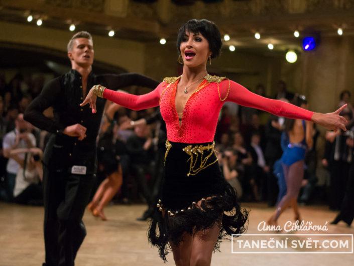Mistrovství ČR v latinskoamerických tancích 2015