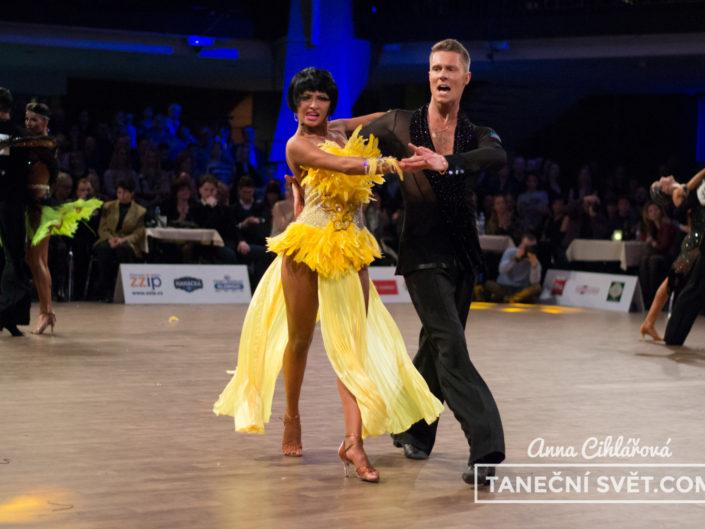 Mistrovství ČR v latinskoamerických tancích 2016 | Anna