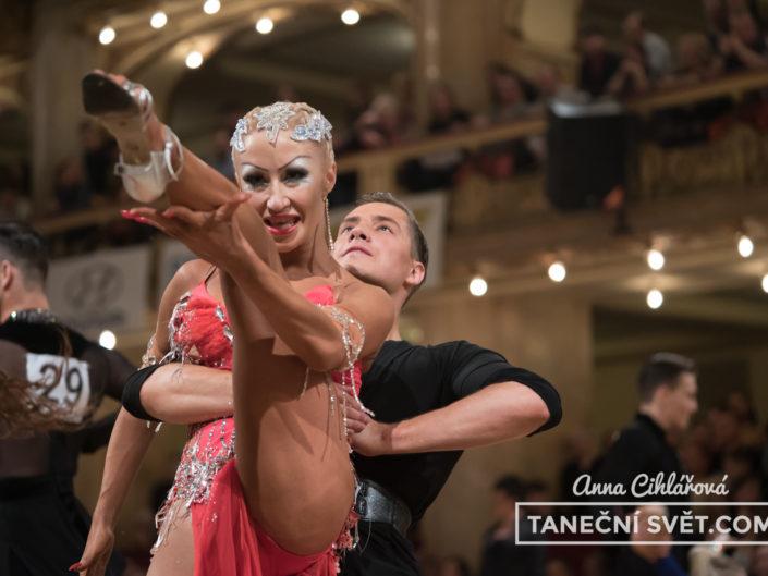 Mistrovství ČR v latinskoamerických tancích 2017 | Anna