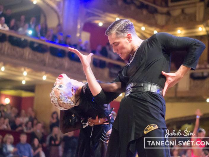 Mistrovství ČR v latinskoamerických tancích 2017 | Jakub