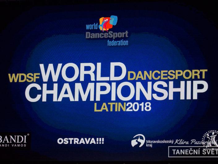 WDSF World Championship Latin 2018 – Klára